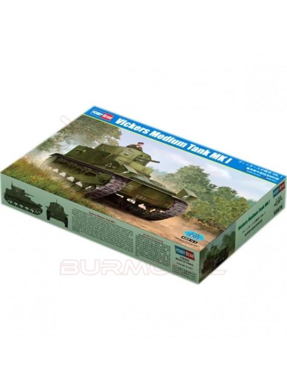 Maqueta tanque Vickers Medium MK I 1/35