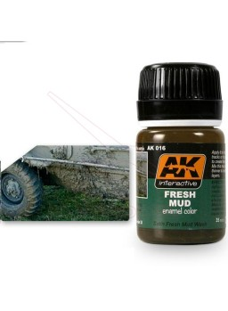 Efecto Barro fresco AK Interactive 35ml