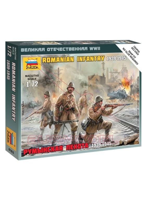 Tropas francotiradores rumanos en invierno 1/72