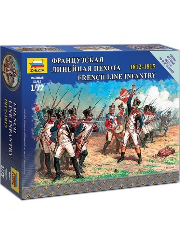 Infantería de linea Francesa 1812-1815 escala 1/72