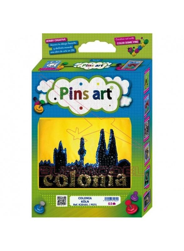 Juego de manualidad Pins Art Colonia