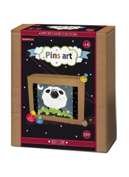 Kit creativo Pins Art Oveja Just One