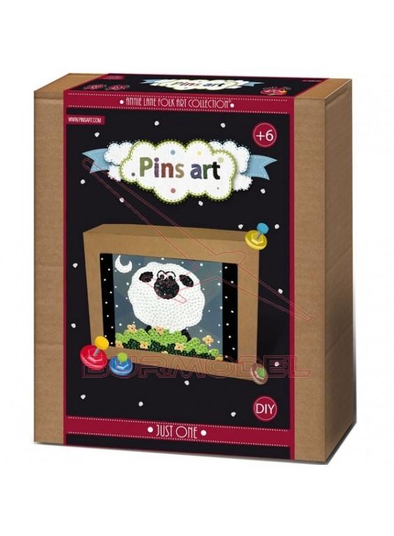 Kit creativo Pins Art Oveja Just One