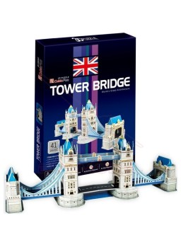 Puzzle 3 dimensiones Tower Bridge 41 piezas