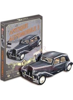 Puzzle 3 dimensiones coche clásico 32 piezas