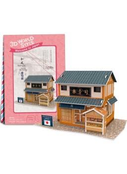 Puzzle 3D restaurante Japonés 32 piezas
