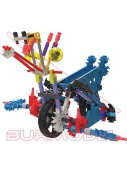 KNex juego de construcción Robo-Jaws 136 piezas