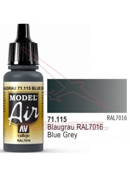 Pintura Model Air Blaugrau RAL
