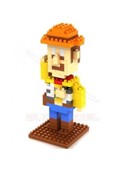 Juego montaje Woody Toy Story por bloques 170 piezas
