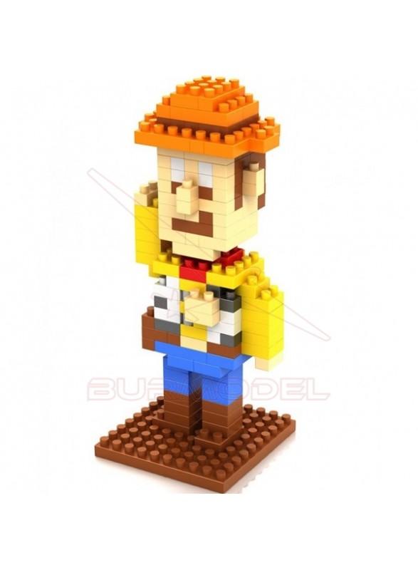 Juego montaje Mr Potato por bloques 170 piezas