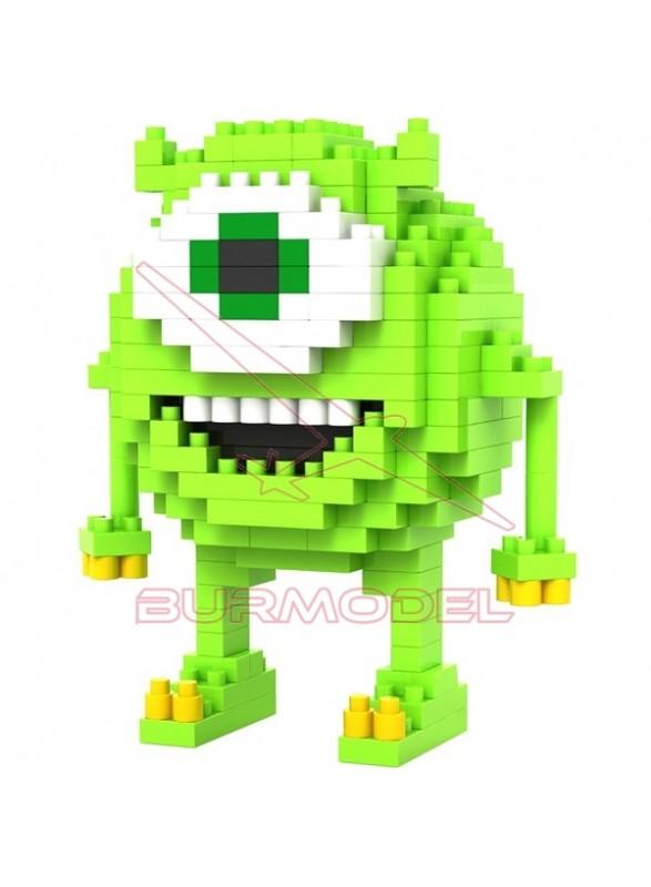 Juego construcción Monstruos SA Mike 180 bloques