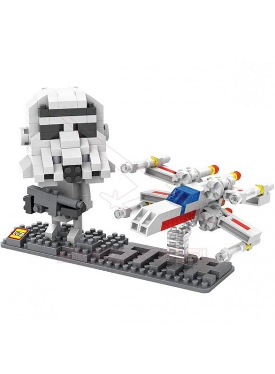 Juego para montar Star Wars Soldado imperial 360pc