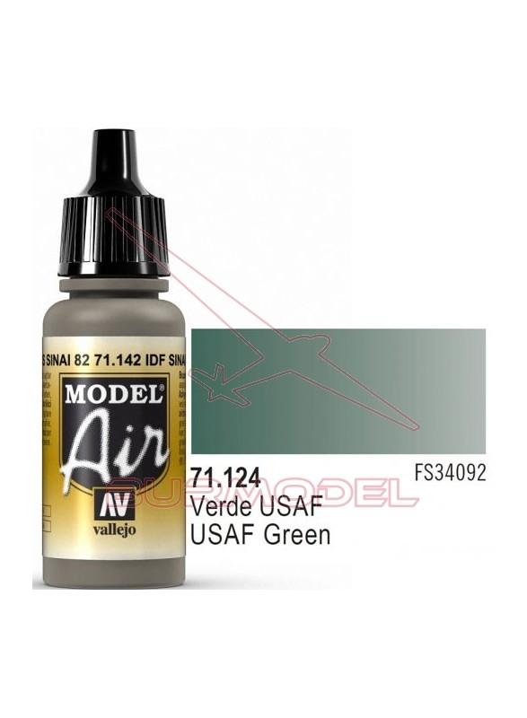 Pintura Vallejo Model Air Verde USAF