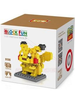 Juego para construir Pokemon: Pikachu 120 piezas