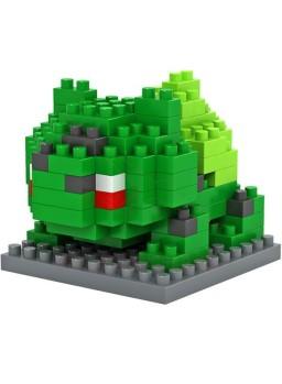 Juego para construir Pokemon: Bulbasaur 120 piezas