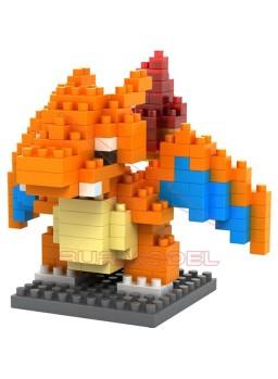 Juego para construir Pokemon: Charizard 210 piezas