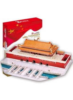Puzzle 3D Plaza de Tiananmen, China 84 piezas