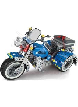 Kit para montar moto de metal 709 piezas