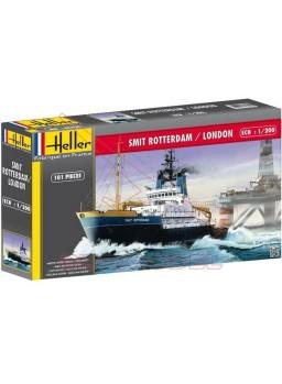 Maqueta barco remolcador Smit Rotterdam-Lond 1/200