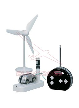 Coche radio control con carga por aire