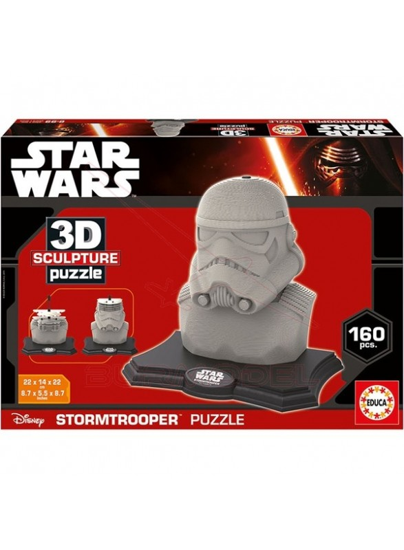 Puzzle Star Wars 3D Stormtrooper 160 piezas