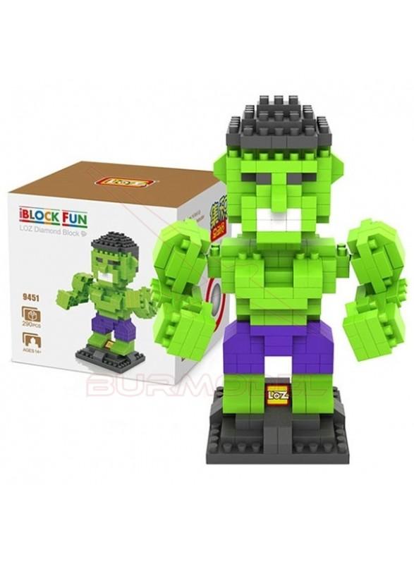 Juego para construir Hulk 290 piezas