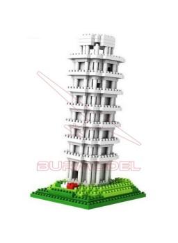 Juego de montaje Torre de Pisa 560 piezas