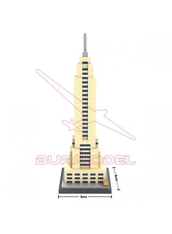 Juego de montaje mini bloques Empire State 910pcs