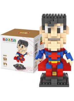 Juego para construir Superman 270 mini bloques