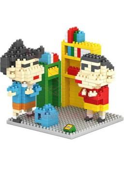 Juego de montaje Shin Chan 410 mini bloques