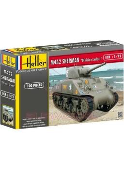 Maqueta Tanque Sherman M4A2 División Leclerc 1/72