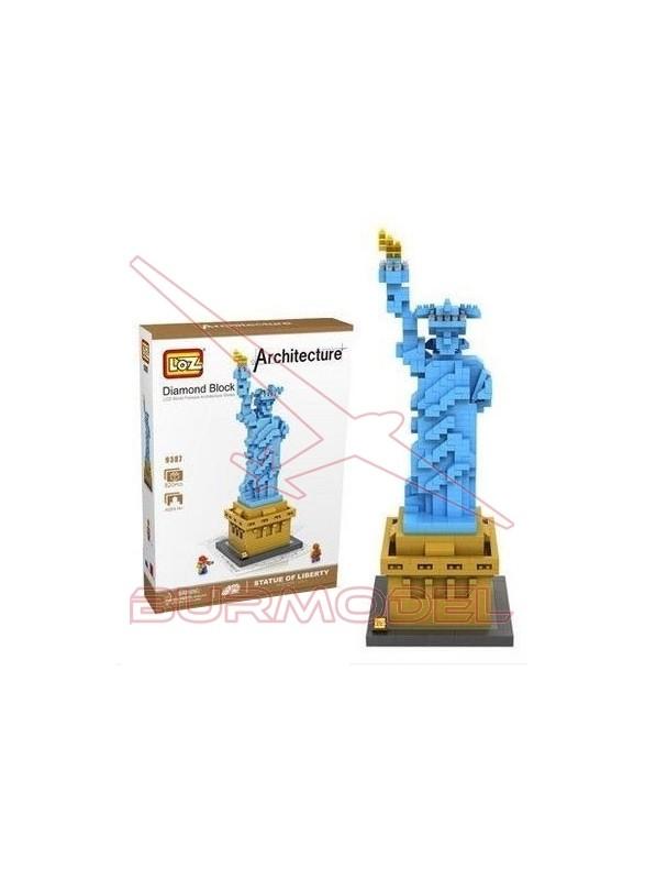 Juego para construir Estatua de la Libertadad 820p