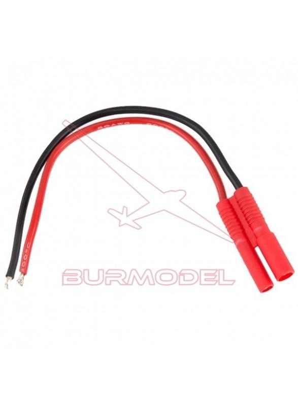 Conector HXT 2mm macho con cable