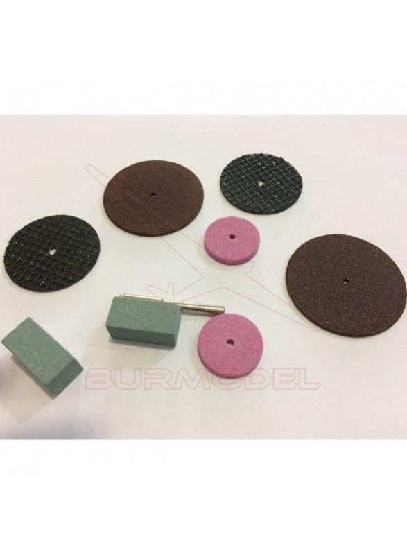 Accesorios mini taladro juegos de discos