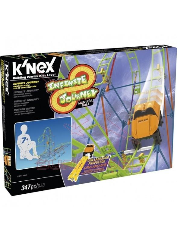 K'Nex Kit de montaje montaña rusa Infinity Journey