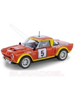 Coche Scalextric Fiat 124 Abarth Spider Baccchelli