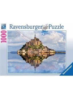 Puzzle 1000 piezas Mont Saint Michel