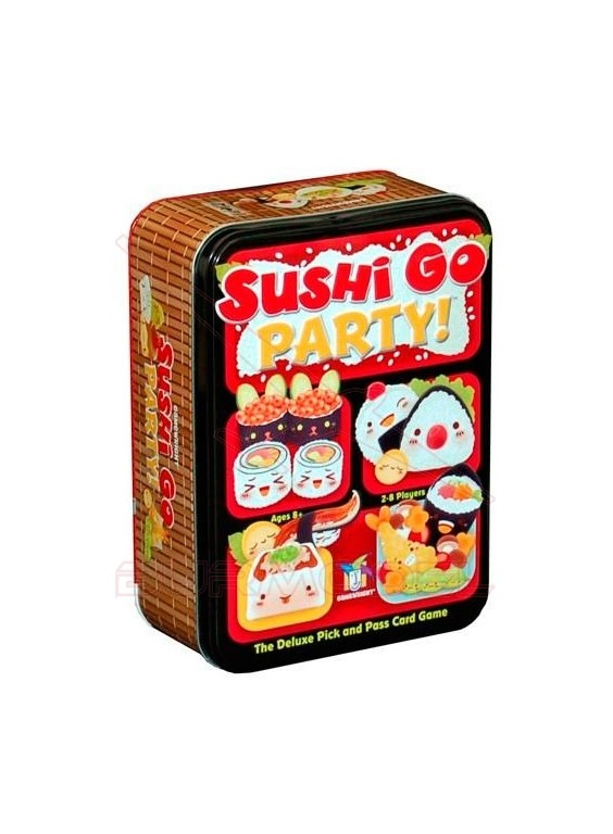 Juego de cartas Sushi Go Party