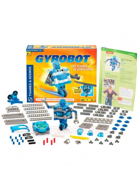Juego construcción robot Gyrobot
