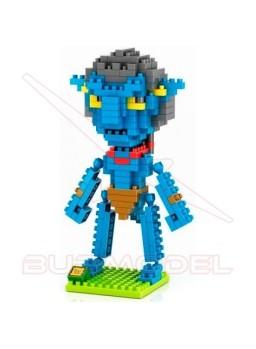 Juego para montar personaje Avatar Jake Sully 250p