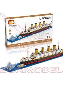 Kit montaje mini Bloques Titanic 1860pcs