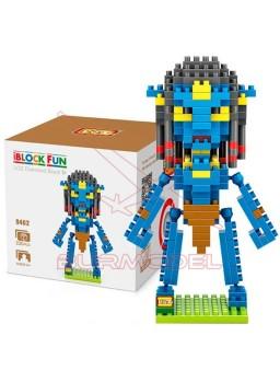 Juego construcción personaje Avatar Neytiri 250pcs