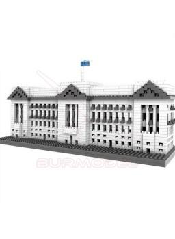 Juego construcción Buckingham Palace minibloques