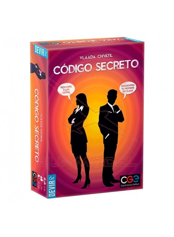 Juego de mesa Código Secreto