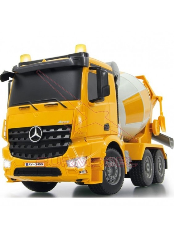 Camión hormigonera RC Mercedes Arocs 1/20 2.4Ghz