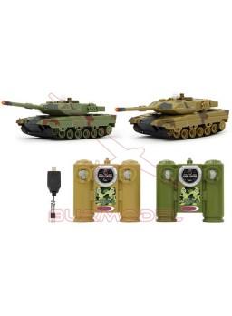 Tanques infrarrojos set Leopard II 2,4Ghz