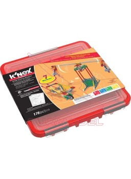 Knex juego de construcción palancas y poleas 178pc