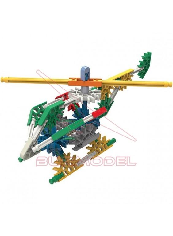 Knex juego de construcción helicóptero 62 piezas