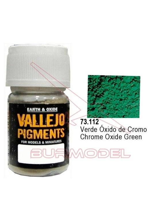 Pigmento Vallejo Verde óxido de cromo