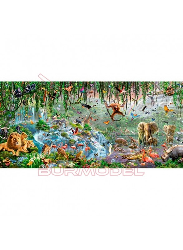 Puzzle Panorama Vida salvaje 3000 piezas